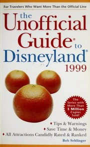 Cover of: The Unofficial Guide to Disneyland