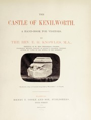 Cover of: The castle of Kenilworth