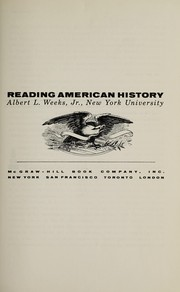 Cover of: Reading American history