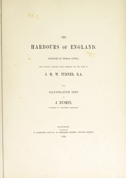 Cover of: The harbours of England