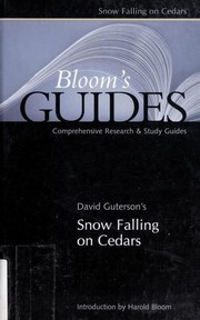 Cover of: David Guterson's Snow Falling on Cedars |