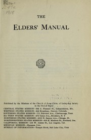 Cover of: The elders