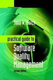 Cover of: Practical Guide to Software Quality Management (Artech House Computer Library)