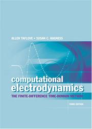 Cover of: Computational electrodynamics