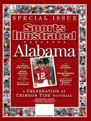Cover of: Sports Illustrated, The 2006 Alabama Football Tribute Issue | Editors of Sports Illustrated