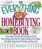 Cover of: The Everything Homebuying Book | Ruth Rejnis