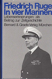 Cover of: In vier Marinen