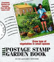Cover of: The postage stamp garden book | Duane G. Newcomb