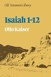 Cover of: Isaiah 1-12 | Otto Kaiser
