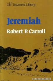 Cover of: Jeremiah | Robert P. Carroll