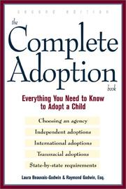 Cover of: The complete adoption book