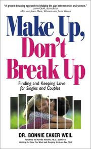 Cover of: Make Up, Don't Break Up