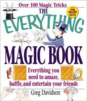 Cover of: The everything magic book