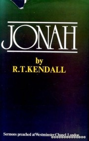 Cover of: Jonah | R. T. Kendall