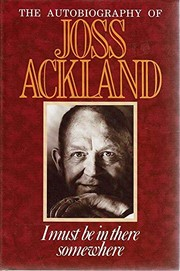 Cover of: I must be in there somewhere | Joss Ackland