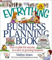 Cover of: The Everything Business Planning Book