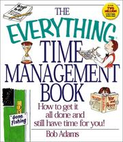 Cover of: The Everything Time Management Book