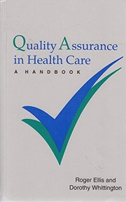 Quality assurance in health care: a handbook