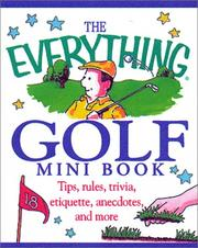 Cover of: The Everything Golf Mini Book (Everything (Mini))