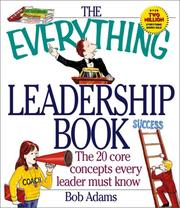 Cover of: Everything Leadership Book