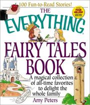 Cover of: The everything fairy tales book | Amy Peters