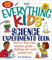 Cover of: The Everything Kids' Science Experiments Book