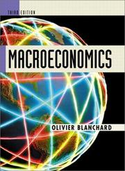 Cover of: Macroeconomics | Olivier Blanchard