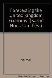 Forecasting the United Kingdom economy