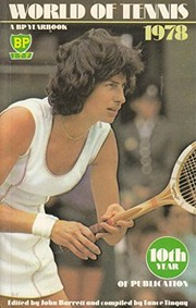 Cover of: World of tennis |