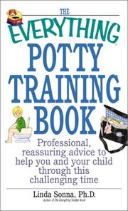 Cover of: The Everything Potty Training Book | Linda Sonna