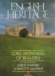 Cover of: English heritage