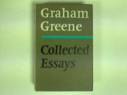 Cover of: Collected essays. | Graham Greene