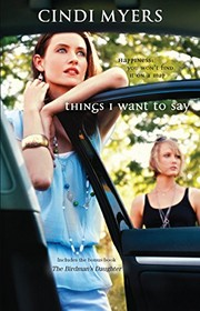 Cover of: Things I Want To Say: An Anthology