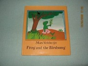 Cover of: Frog and the birdsong | Max Velthuijs