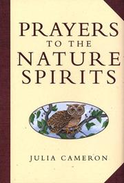 Cover of: Prayers to the nature spirits