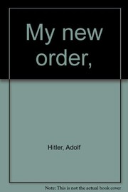 Cover of: My new order