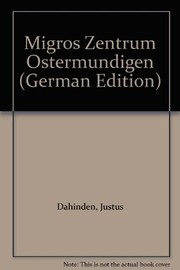 Cover of: Migros Zentrum Ostermundigen