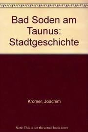Cover of: Bad Soden am Taunus