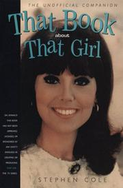 Cover of: That book about That Girl | Stephen Cole