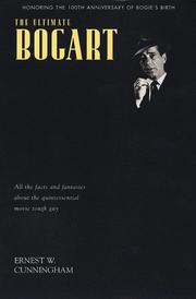 Cover of: The ultimate Bogart