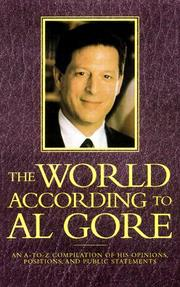 Cover of: The world according to Al Gore
