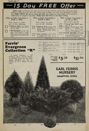 Cover of: 15 day free offer | Earl Ferris Nursery