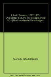 Cover of: John F. Kennedy, 1917-1963