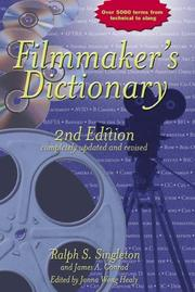 Cover of: Filmmaker's dictionary