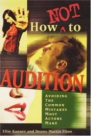 Cover of: How not to audition