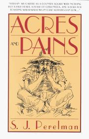 Cover of: Acres and pains