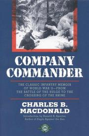 Cover of: Company commander