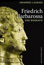 Cover of: Friedrich Barbarossa | Johannes Laudage
