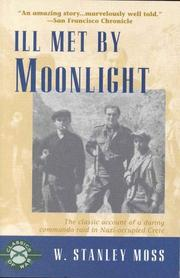Ill met by moonlight by W. Stanley Moss
