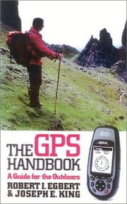 Cover of: The GPS Handbook | Robert I. Egbert